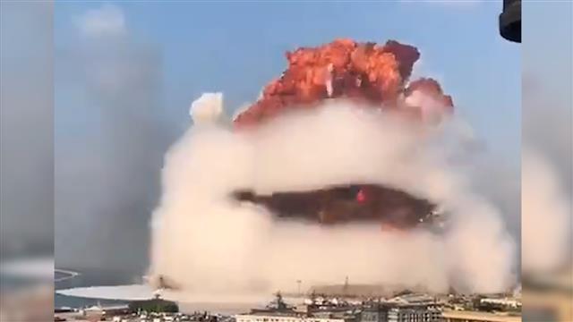 Eksplozija u Bejrutu Foto: Youtube/prinscreen