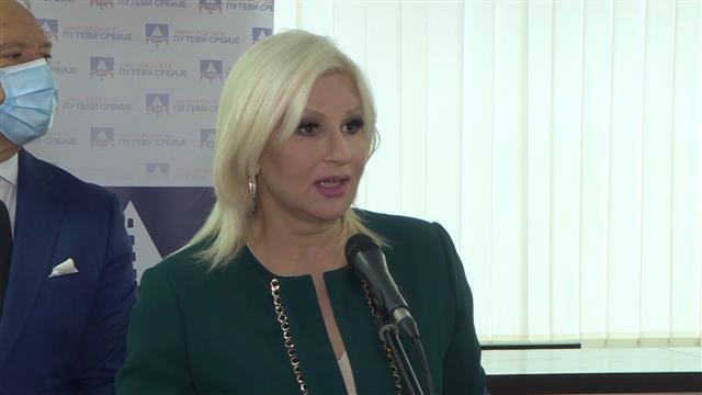 Zorana Mihajlović  Foto: Tanjug/video