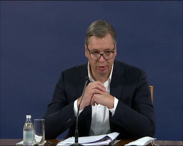 Predsednik Srbije Aleksandar Vučić Foto: Tanjug/video