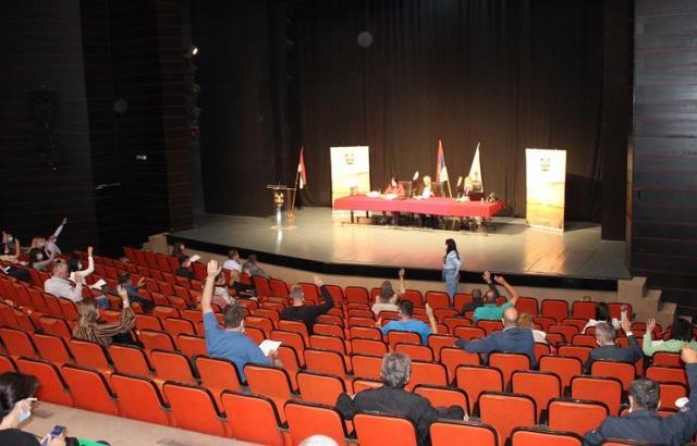 Skupština zaseda u sali Kulturnog centra Foto: Opština Ruma