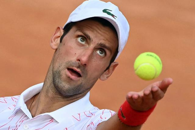 Novak Djokovic u Rimu/Fonet/AP