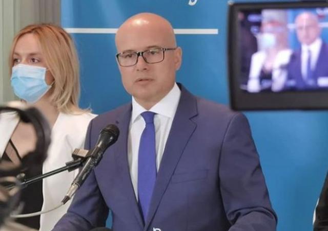 Gradonačelnik Miloš Vučević Foto: Dnevnik.rs