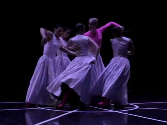 """Iz baleta """"Čipka, Baleta Hrvatskog narodnog kazališta iz Rijeke Foto: Youtube/prinscreen"""