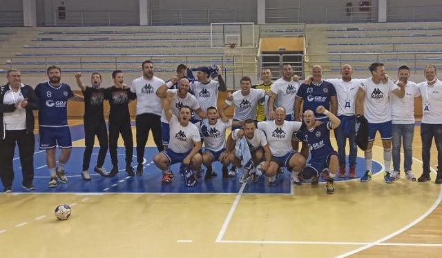 Ekipa Hercegovca koja je izborila plasman u viši rang foto: J. Galić