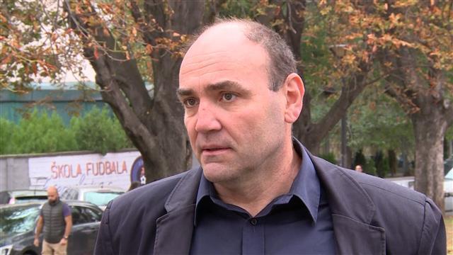 Zoran Panović, programski direktor istraživačko-analitičkog centra Demostat  Foto: Tanjug/video