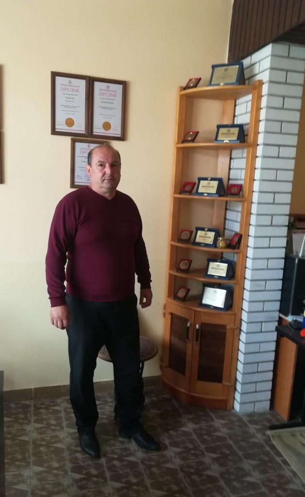 Foto: Ranko Panić podigao prve zasade pre osam godina
