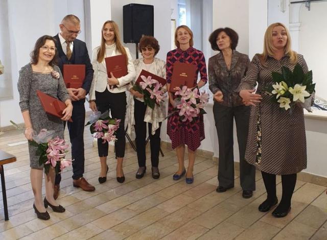 Dodeljena nagrada dr Snežani Mišić Foto: Galerija Matice srpske