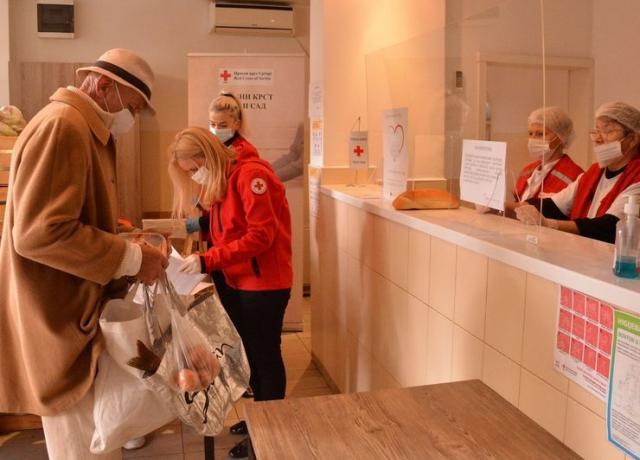 Akcija pomoći za socijalno ugrožene građane Foto: V. Fifa