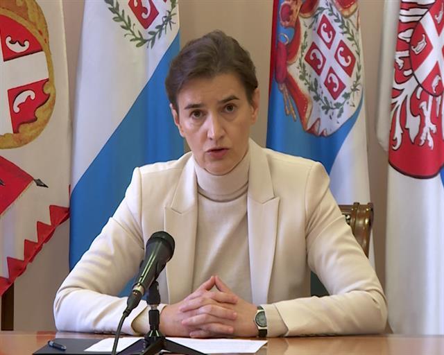 Predsednica Vlade Ana Brnabić Foto: Tanjug/video