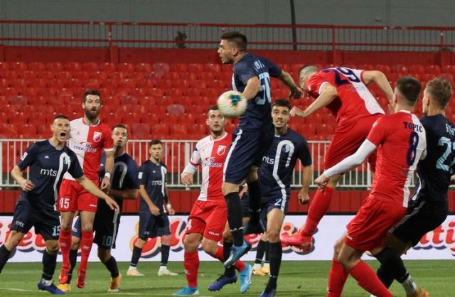 Fudbaleri Vojvodine i Rada odigrali lepu utakmicu sa puno golovaFoto: F. Bakić