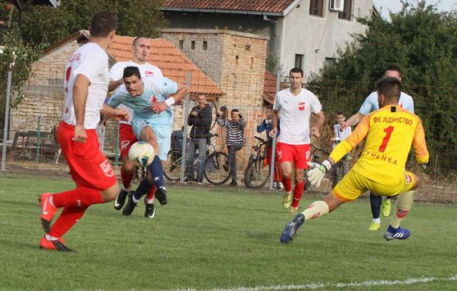 Fudbaleri Jedinstva i Vojvodine odigrali su zanimljivu i lepu utakmicu Foto:F. Bakić