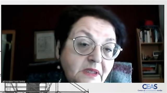 Gordana Čomić Foto: Tanjug/video