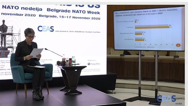 Direktorka CEAS Jelena Milić  Foto: Tanjug/video