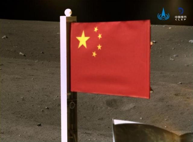 Kina istakla svoju zastavu na Mesecu Foto: CNSA/Handout via Xinhua