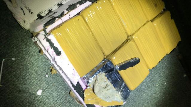 Carinici otkrili dupli bunker pun heroina  Foto:Uprava carina
