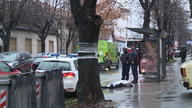 Preminuo sredovečni muškarac na stanici u Zemunu  Foto: Tanjug/video