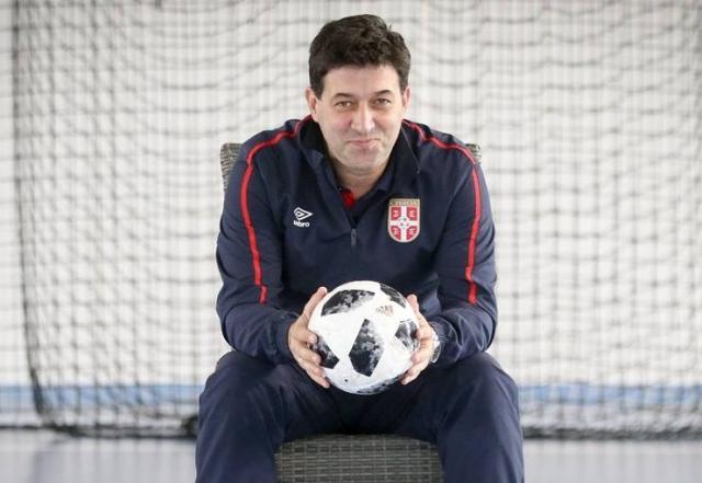 Goran Ivančić, selektor futsal reprezentacije Srbije Foto:FSS