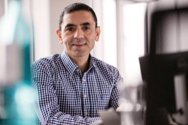 Prof. Dr. Ugur Šahin, CEO, BioNTech AG  Foto: BioNTech