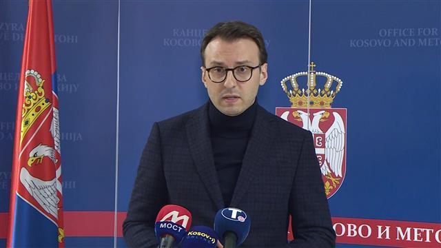 Direktor Kancelarije za KiM Petar Petković  Foto:Tanjug/video