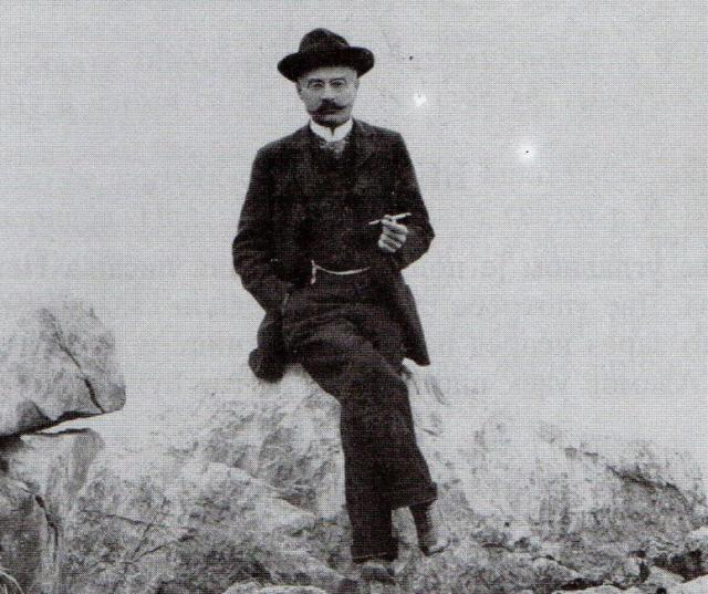 Фото дописница коју је Адамов из Опатије послао Јовану Грчићу у Нови Сад