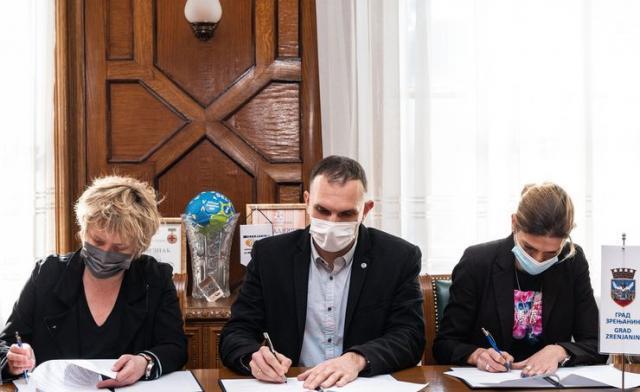 Zrenjanin i Institut za ženski sport dogovorili saradnju Foto: Grad Zrenjanin