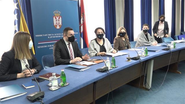Čomić i Lučić Foto: Tanjug/video