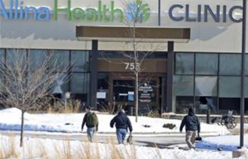 Pucnjava na Klinici u Minesoti Foto: David Joles/ Star Tribune via AP