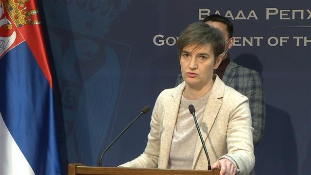 Ana Brnabić, premijerka Foto: Tanjug/video