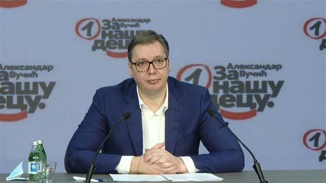 Predsednik SNS Aleksandar Vučić Foto: Tanjug/video