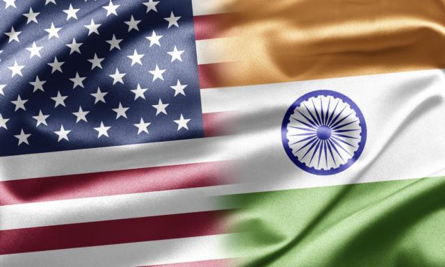 SAD-Indija zastave Foto: in.usembassy.gov