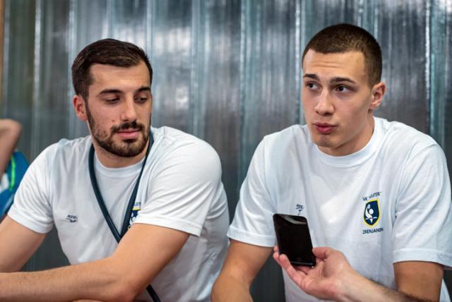 Ж. Б./Спортисти за пример: Лука и Матеја Босић