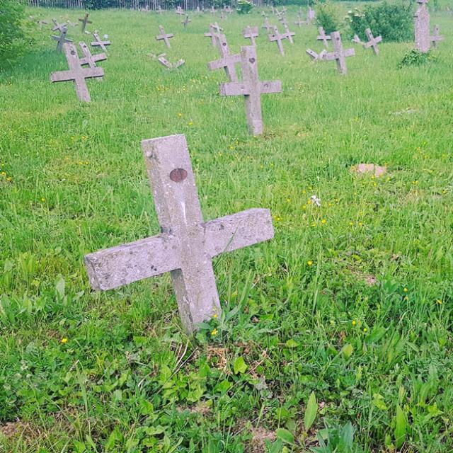 Роберт Чобан /45 крстова за француске војнике умрле од Шпанске грознице