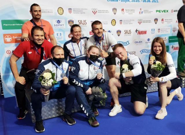 Стрељачки савез Србије/Вицешампиони у миксу