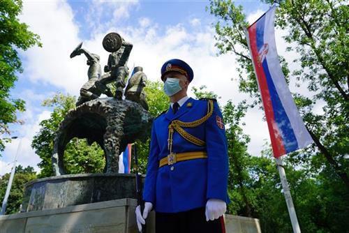 Танјуг/Драган Кујунџић/Споменик јунацима са Кошара