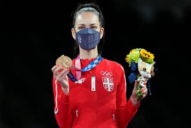 Tijana Bogdanović (Srbija)/Fonet/AP/
