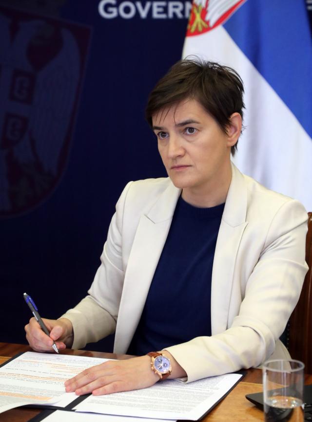 ana brnabic, Vlada Srbije/Slobodan Miljević