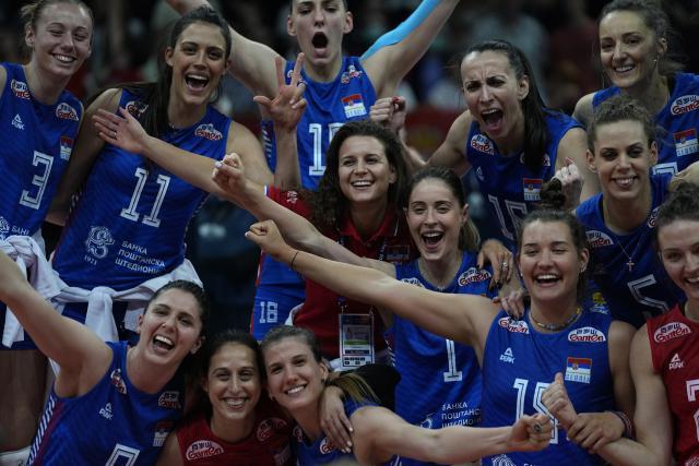 odbojkasice srbije, Tanjug/AP Photo/Darko Vojinovic