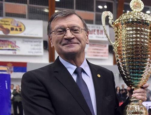 Aleksandar Boričić, predsednik CEV Foto: Dnevnik.rs