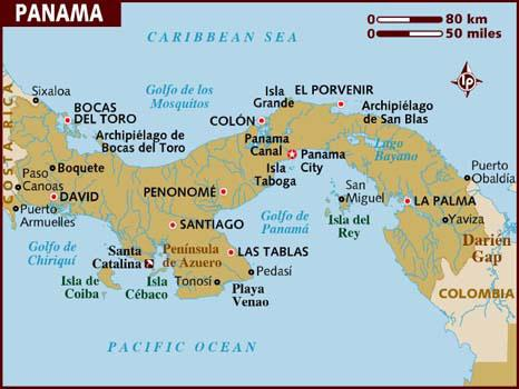 panama-map Foto: Youtube/printscreen