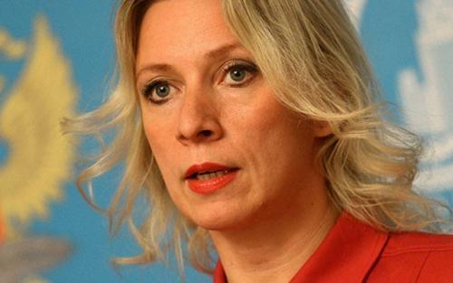 Marija Zaharova Foto: Youtube/printscreen